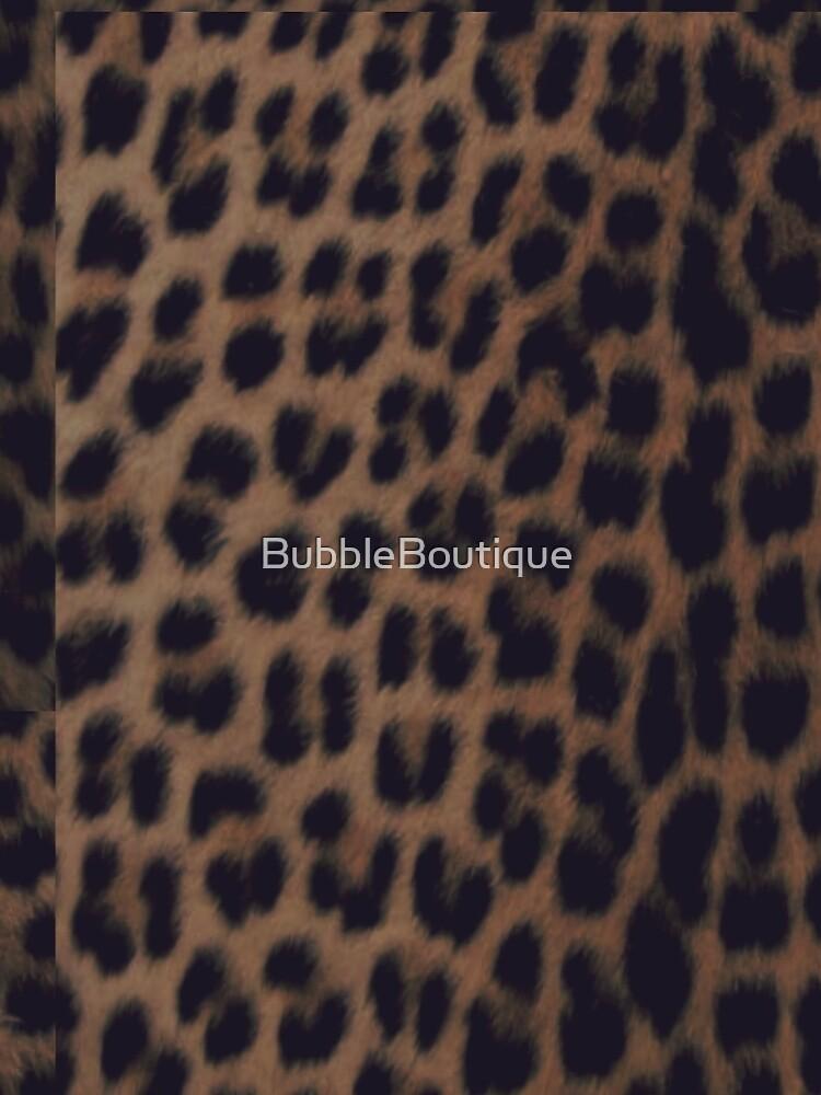 Einfarbiger Leopard-Druck von BubbleBoutique