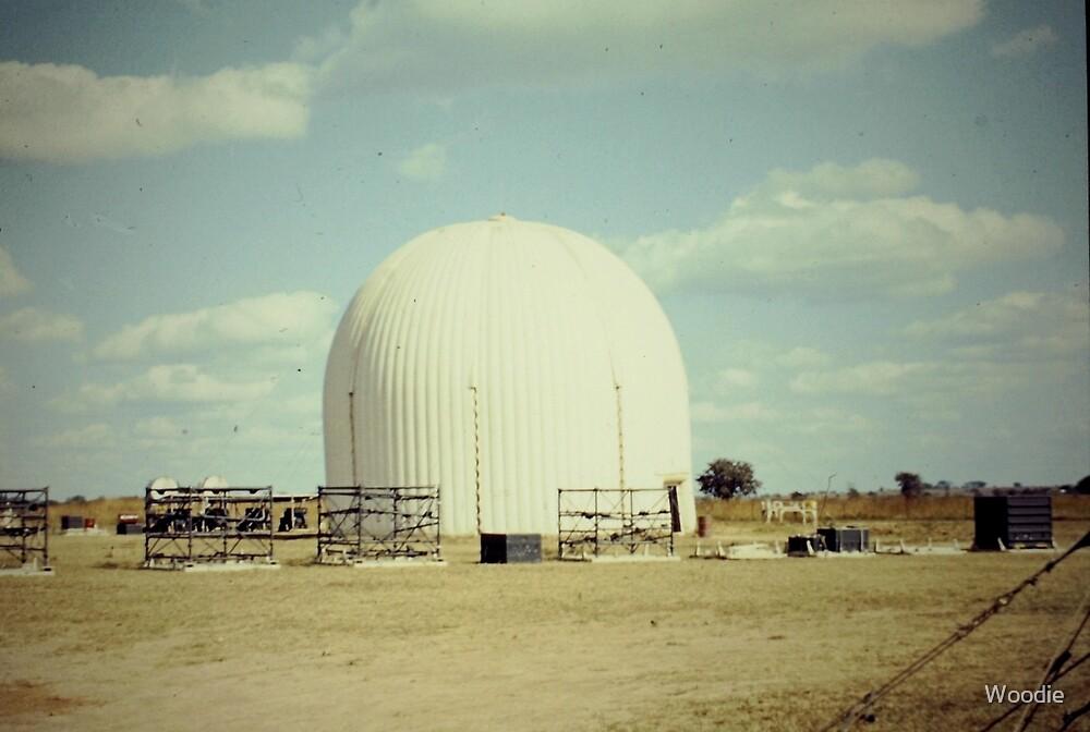 1966 RAF Radar Radome by Woodie