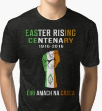 Easter Rising Centenary T Shirt 1916 - 2016 Tri-blend T-Shirt