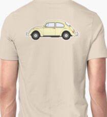 VW, Volkswagen, Beetle, Bug, Motor, Car, Cream T-Shirt