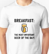 Breakfast Beer Unisex T-Shirt