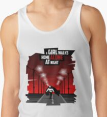 A Girl Walks Home Alone At Night Tank Top