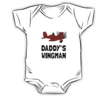 Daddys Wingman One Piece - Short Sleeve