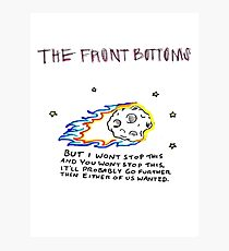 The Front Bottoms Photographic Print
