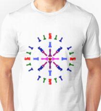 Chess Piece Design Unisex T-Shirt