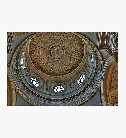 Church of St. Hubert - Ceiling Photographic Print