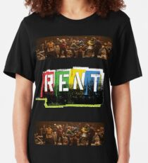 RENT the musical! Slim Fit T-Shirt