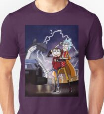Rick And Morty Back To The Future Mash-Up Unisex T-Shirt