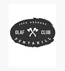 OLAF Club Pentakill Photographic Print