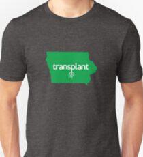Iowa Transplant IA Green Unisex T-Shirt