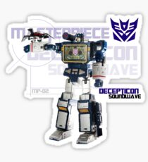Transformers G1 Soundwave Sticker