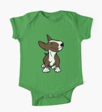 English Bull Terrier Pup Brown  Kids Clothes