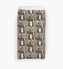 English Bull Terrier Pup Brown  Duvet Cover