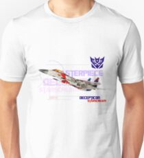 Transformers G1 Starscream Jet Unisex T-Shirt