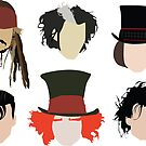 «Johnny Depp - Personajes famosos» de SarGraphics