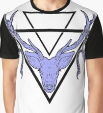 Triangle Deer H 2 Graphic T-Shirt