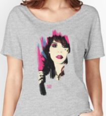 Glass Candy Fan T-shirt Women's Relaxed Fit T-Shirt
