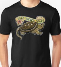 Life Won't Wait Snapping Turtle Unisex T-Shirt