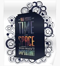 Doctor Who - Space and Time Poster