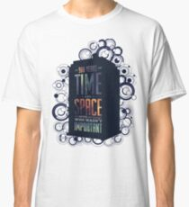 Doctor Who - Space and Time Classic T-Shirt