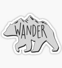 Wander Bear Mountain Sticker