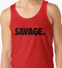 SAVAGE - (Black) Tank Top