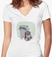 Liebe ist Schwäche Shirt mit V-Ausschnitt