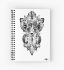The Dweller On The Threshold Spiral Notebook