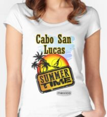 Cabo San Lucas Women's Fitted Scoop T-Shirt