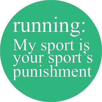 Running: My Sport Light Blue and Seafoam by Gritzke