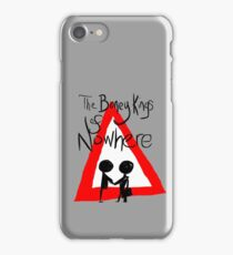 The Boney Kings of Nowhere Red Triangle iPhone Case/Skin