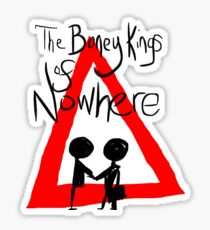 The Boney Kings of Nowhere Red Triangle Sticker