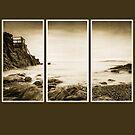 High rock triptych by Martina Fagan