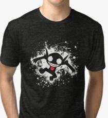 Sableye Splatter Tri-blend T-Shirt