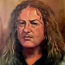 Portrait of Mick by Roz McQuillan
