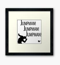 Jumpman! x3 Framed Print