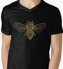 Mandala Bees Men's V-Neck T-Shirt