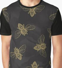 Mandala Bees Graphic T-Shirt