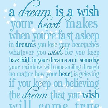 A Dream is a Wish by samtroup