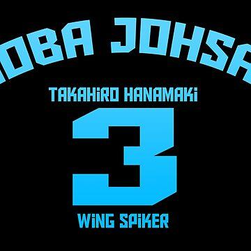 Aoba Johsai 3 - Takahiro Hanamaki by xAmalie