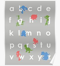 Toy Story ABCs Poster