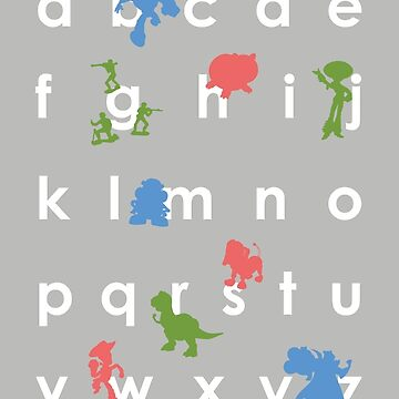 Toy Story ABCs by samtroup