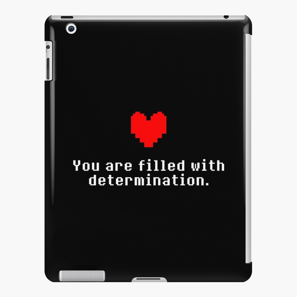 Seeing this image... - Undertale iPad Case & Skin