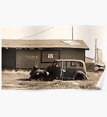 Route 66 Vintage Auto Poster