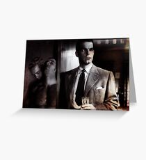 Double Indemnity II from the CineManArt series  Greeting Card
