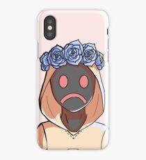 Flower crown Hoodie iPhone Case/Skin