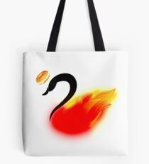 Once Upon a BagelSwanfire Tote Bag