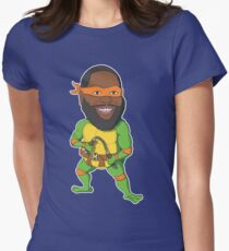 Killer Mikey Womens Fitted T-Shirt