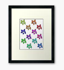 Rainbow Buers Framed Print