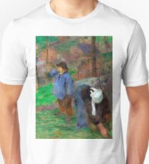 1888 - Gauguin - Landscape of Brittany T-Shirt